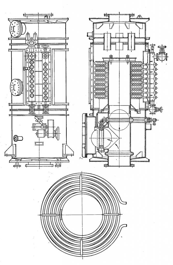 Heat recovery marine boiler KUP 40